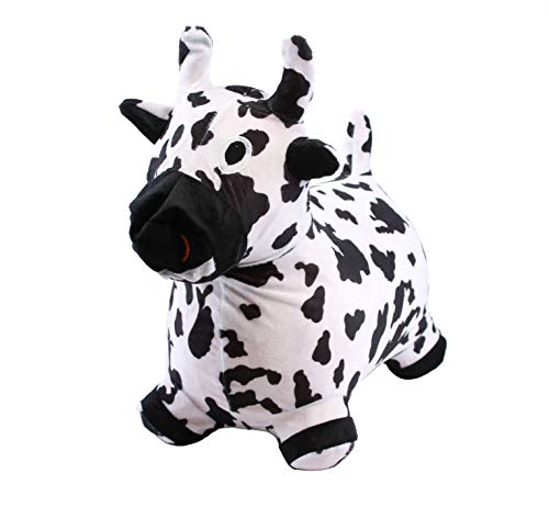 - Chromo Bouncy Inflatable Real Feel Hopping Cow