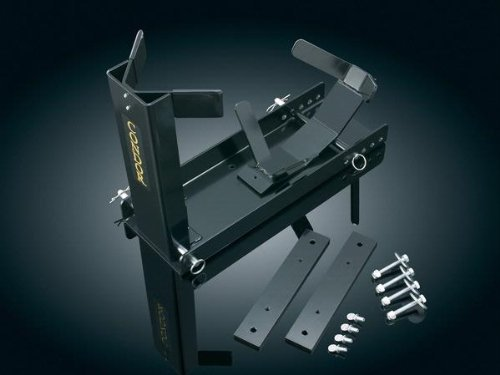 Kuryakyn-922-Condor-Trailer-Wheel-Chock-with-Adapter-Kit