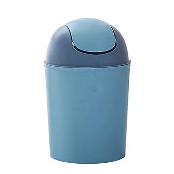 Color Azul Cubo de Basura para el hogar Depory la Cocina o la Oficina