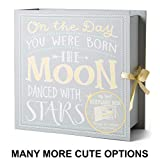 TCD Baby Keepsake Boxes - Various Designs (Moon & Stars)