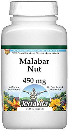 Malabar Nut - 450 mg (100 Capsules, ZIN: - Malabar Nut