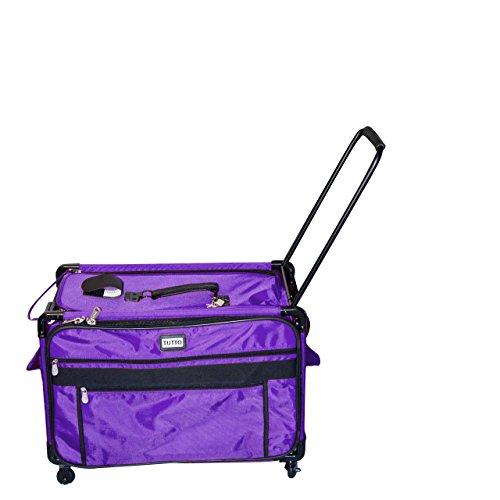 Tutto 9228PMA 2XL PURPLE Machine on Wheels Case, Purple by Tutto