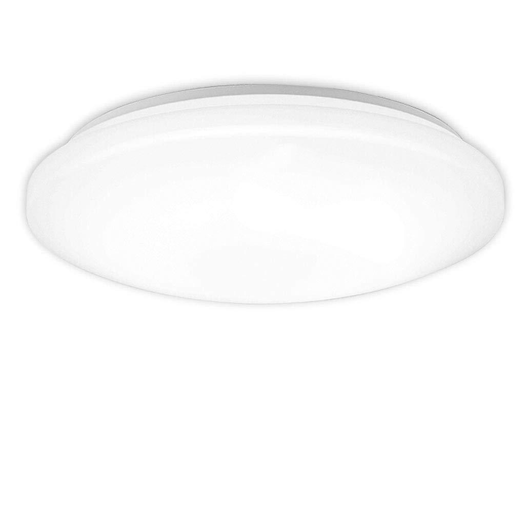 Qhw Simple Modern LED Ceiling Lamp Living Room Bedroom Lighting Acrylic Round Slim 19w