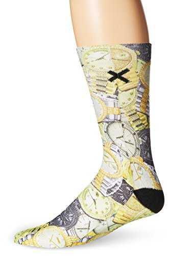 (Odd Sox Men's Watches, Multi, Sock Size:10-13/Shoe Size: 6-12)
