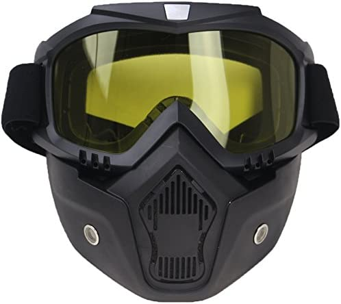 masque de protection moto