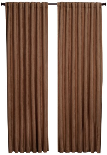 1888 Mills Austin  56-inch-by-84-inch Single Blackout Panel, Brown