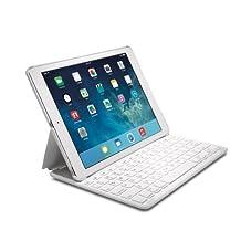 Kensington KeyFolio Thin X2 Bluetooth Keyboard Case for iPad Air (K97259US) White