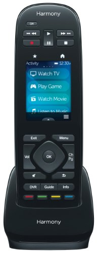 Logitech Harmony Ultimate One IR All In One Remote with Customizable Touch Screen