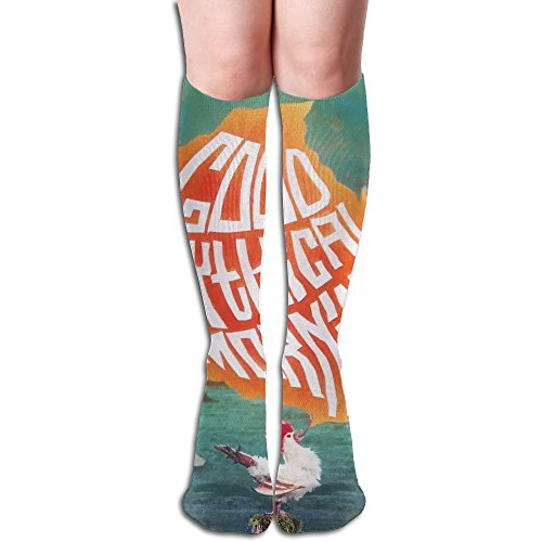 Good Mythical Morning Costumes (Good Mythical Morning Girls 3D Pattern Socks Knee High Stockings)