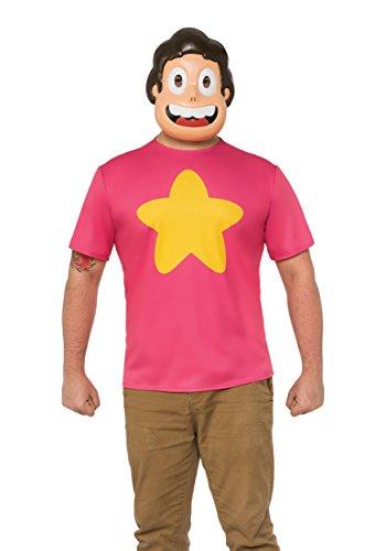 Steven Universe Halloween Costumes (Rubie's Costume Co. Men's Steven Universe, As Shown, Small)