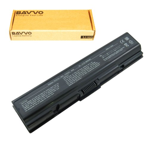 0et00x Battery Laptop - Bavvo 9-Cell Battery for Toshiba A200-17O A200-17X A200-180 A200-182 A200-18M A200-18T A200-18W A200-191 A200-193 A200-195