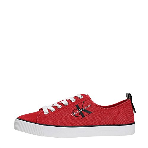 Calvin Women Sneakers R8953 Klein Red qqTAY