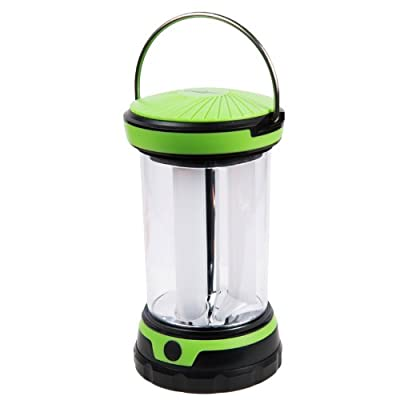 Lucky Bums Kids Youth Camping LED Bonfire Lantern Lamp with Four Levels Illumination