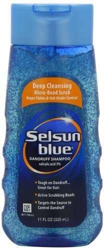Selsun Blue Deep Cleaning, Dandruff Shampoo, 11-Ounce Deep Cleaning Hair Shampoo