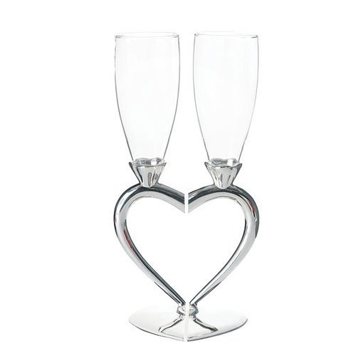 Interlocking Heart Flutes - 6