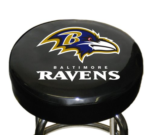 Fremont Die NFL Baltimore Ravens Bar Stool Cover -