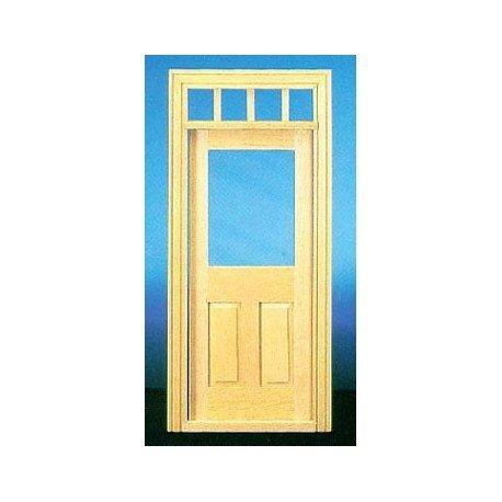 Charmant Dollhouse U0026HW6018: TRAD 2 PANEL DOOR W/WINDOW By Superior Dollhouse  Miniatures