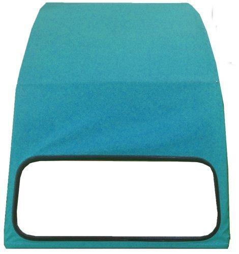 TOPCAR Capote 2CV bleue lagune, neuve avec ouverture inté rieure neuve avec ouverture intérieure