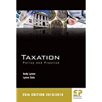 Taxation: Policy and Practice 2018/19 (25th edition)