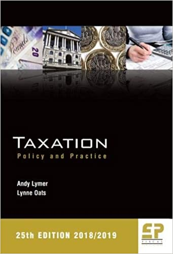 Taxation: Policy and Practice 2018/19 (25th edition): Amazon co uk