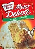 Duncan Hines Banana Supreme Cake Mix 18.25oz - 6 Unit Pack