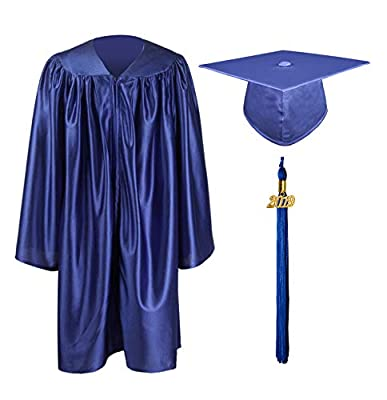 GraduationMall Shiny Kindergarten & Preschool Graduation Gown Cap Set with 2019 Tassel