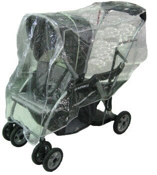 Sashas Rain and Wind Cover for Baby Trend Sit N Stand/Snap N