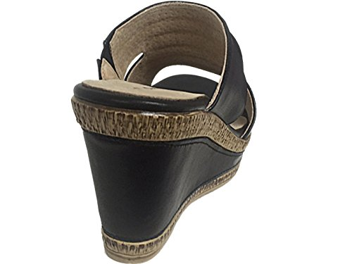 Cushion Walk - Mules mujer negro