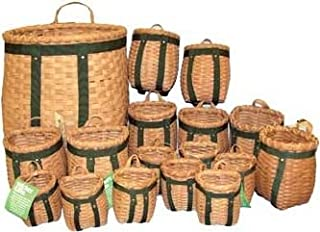 product image for Pack Basket 17-pc Set (Three Sizes) (Strap Color Varies)