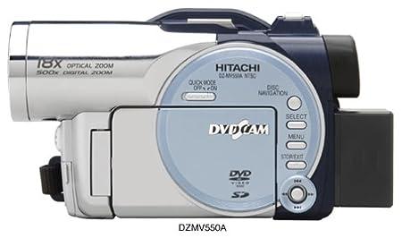 amazon com hitachi dzmv550a dvd camcorder w 18x optical zoom rh amazon com Hitachi StarBoard Manual Hitachi Repair Manual