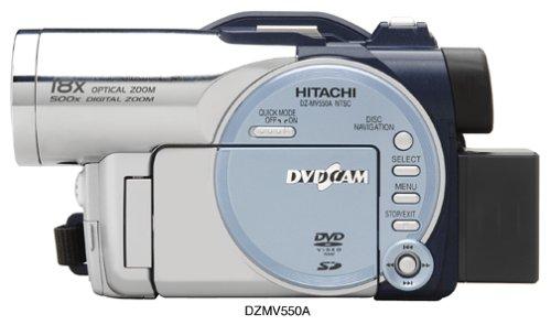 amazon com hitachi dzmv550a dvd camcorder w 18x optical zoom rh amazon com