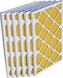 16x25x1 EZ-Pleat Plus MERV 11 Air Filter (6 Pack)