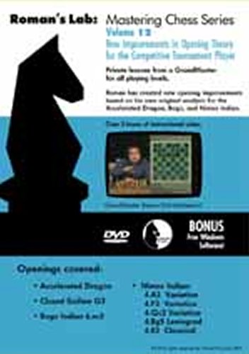 Roman's Lab Chess DVD Volume 12: New Improvements in Opening Theory