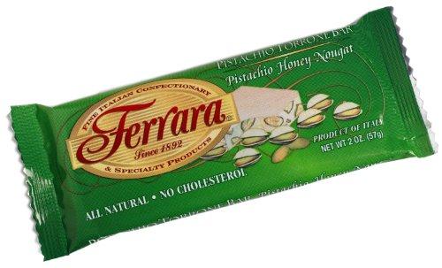 Ferrara - Italian Pistachio Torrone (Pistachio Honey Noug...