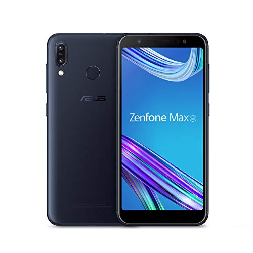"ASUS ZenFone Max M1 (ZB555KL-S425-2G16G-BK) - 5.5"" HD+ 2GB RAM 16GB storage LTE Unlocked Dual SIM Cell phone - US Warranty - Deepsea Black (Renewed)"