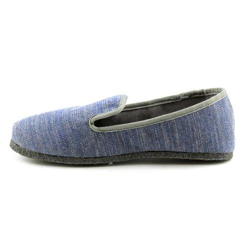 Prachtige Espadrille Pantoffels Van Dames Maat 5.5 Medium (b, M) Blauw Textiel