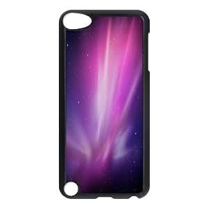 Aurora Borealis Series, Ipod Touch 5 Cases, Pink Aurora Borealis Cases For Ipod Touch 5 [Black]