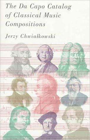 The Da Capo Catalog Of Classical Music Compositions: Jerzy
