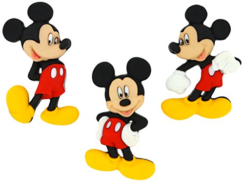 Mickey Mouse Button Embellishments