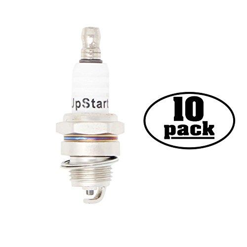 10-Pack Compatible Spark Plug for HOMELITE LRE5500 Generators - Compatible Champion CJ8Y Spark Plugs -  UpStart Components, SP-CJ8Y-10PK-DL15