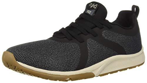 Ryka Women's Fizz Walking Shoe, Black, 9 M US