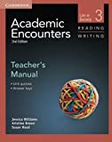 img - for Academic Encounters Level 3 Teacher's Manual Reading and Writing: Life in Society book / textbook / text book