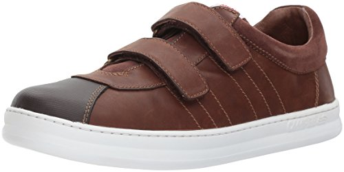 Smooth Dark Shoes Kids Brown (Camper Kids Unisex-Kids Runner Four K800139, Dark Brown, 36 M EU Big Kid (4 US))