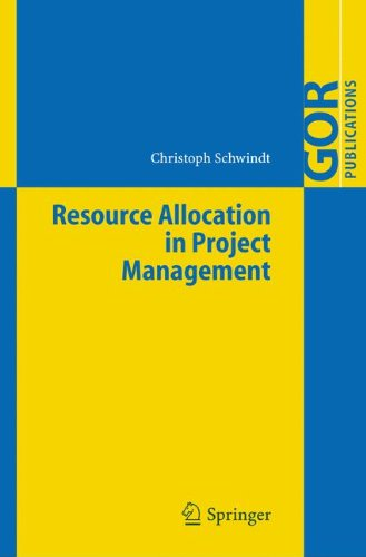 Resource Allocation in Project Management (GOR-Publications) PDF