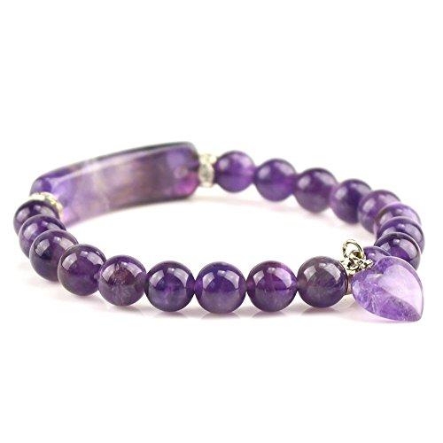 flat gem bracelet - 1