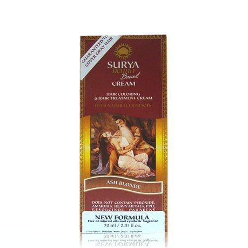 166c3525d36d1 Amazon.com: Surya Brasil: Natural Henna Cream, Mahogany 2.31 oz: Health &  Personal Care