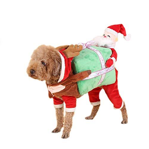 Youbedo Dog Christmas Costume - Pet Dog Cat