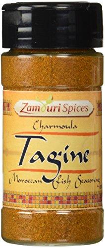 Chermoula - Moroccan Fish Marinade 2.0 oz - Zamouri Spices