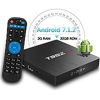 T95Z MAX Android 7.1 TV Box Amlogic S912 Octa-Core 3GB DDR3/32GB eMMC 2.4Ghz 5Ghz Wifi 1000M LAN Ethernet 64-Bit H.265 Bluetooth 4.0 DLNA UHD 4K Mini PC TV Box