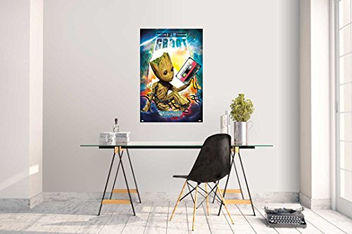 Grupo Erik editores Guardians of The Galaxy Vol 2 Groot gpe5150 – Poster by Grupo Erik Editores (Image #1)